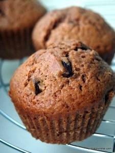 Nutella-Schoko-Muffins