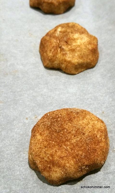 Teig für Zimt-Cookies
