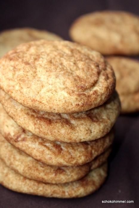 Weihnachtliche Cookies mit Zimt & Zucker