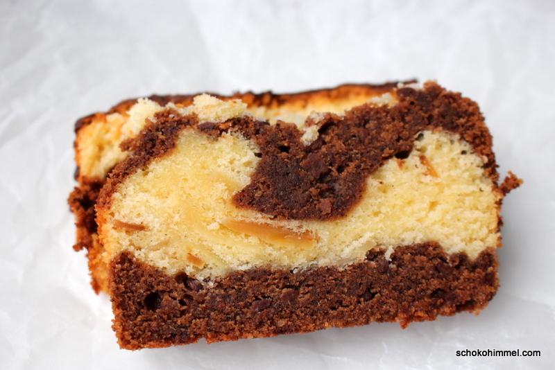 Cremiger Mokka-Mandel-Marmorkuchen