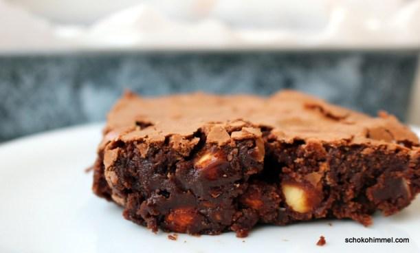 fudgy Mandel-Brownies