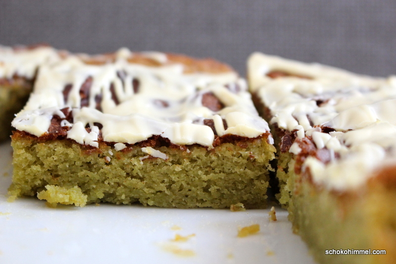 Matcha-Blondies
