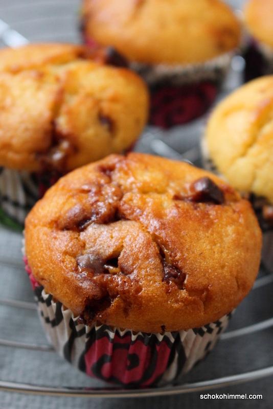 Knusprig-schokoladige Twix-Muffins (Blitzrezept)