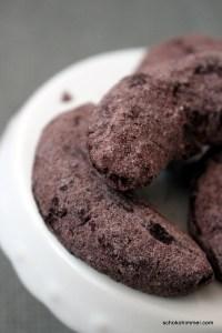 Kakao-Kipferl statt Vanillekipferl