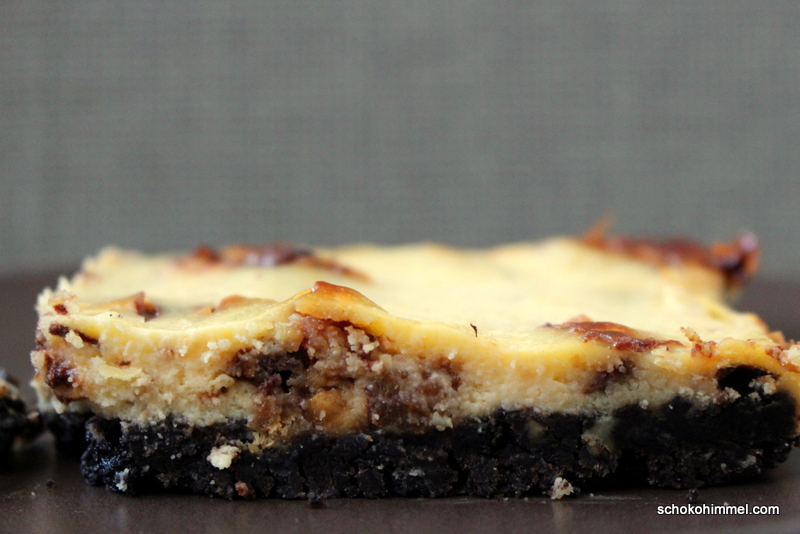 Schokoriegel-Cheesecake