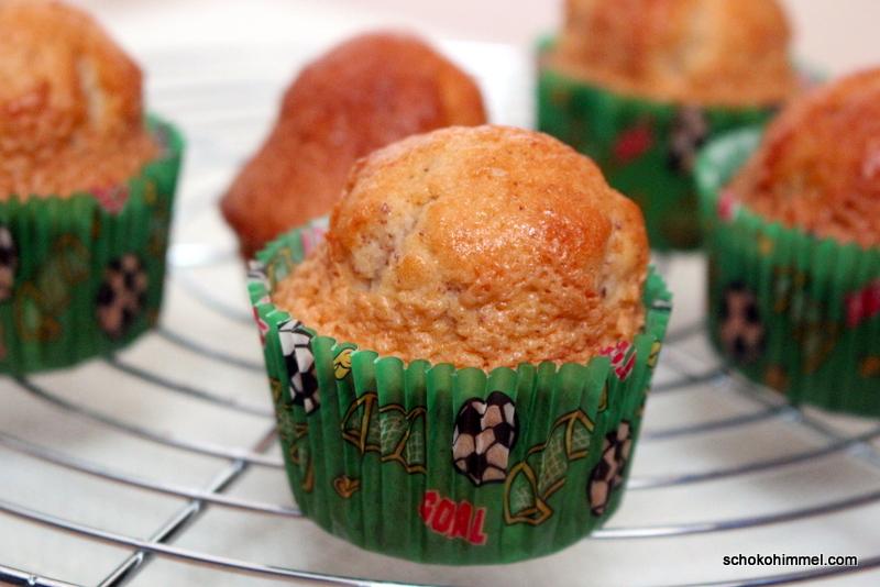 feine Mandel-Amaretto-Muffins