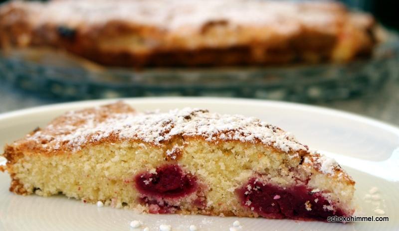 leichter Kirsch-Buttermilch-Kuchen