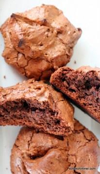 saftige, schokoladige Brownie-Cookies