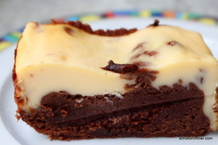 Cheesecake trifft Brownie