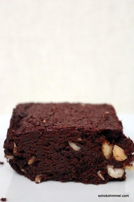 Brownies mit Cashew-Nüssen