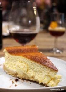 Cheesecake mit Keksboden