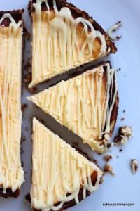 Weißer Schoko-Cheesecake