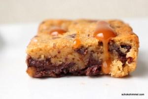 Schokolade und Karamell... zusammen tolle Brownies!