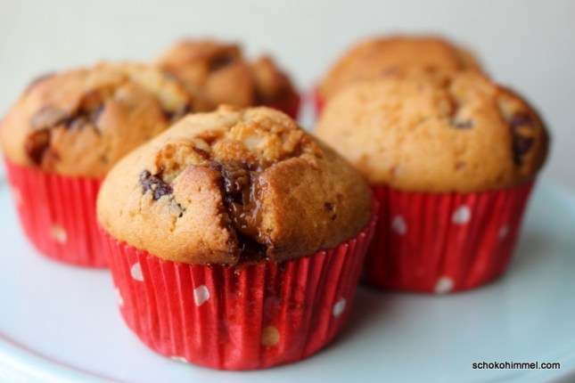 Karamell-Toffifee-Muffins