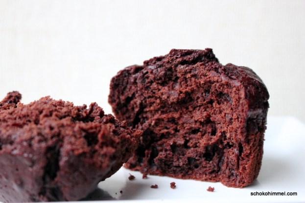Schokoladige Kakao-Kürbis-Muffins