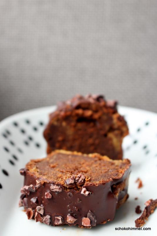 Carrotcake mit Schokolade und Erdnussbutter
