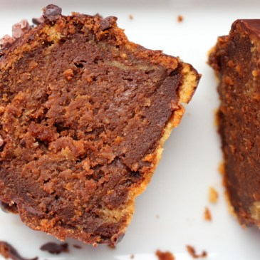 Saftig: schokoladiger Erdnussbutter-Möhren-Kuchen
