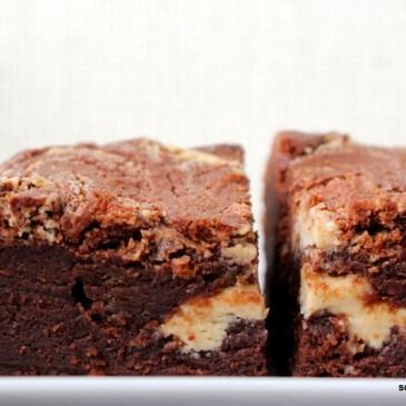 Soulfood: süße, unterbackene Tahini-Brownies