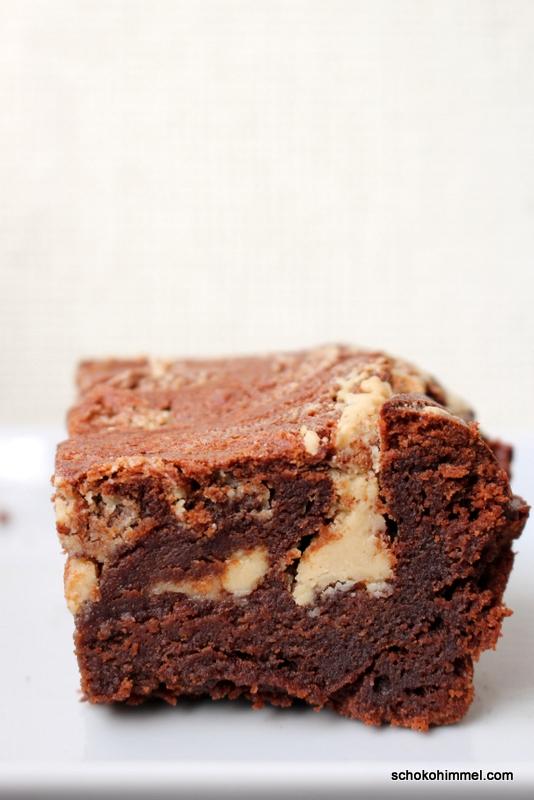 Brownies mit Sesammus