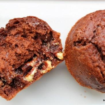 Immer eine gute Idee: Muffins mit kinder Schokolade
