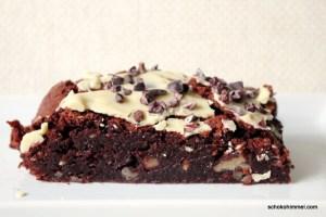 fudgy Pekannuss-Brownies