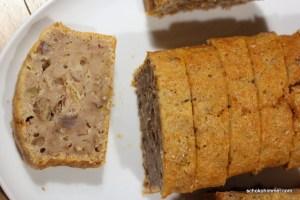 Geschmacksbombe: Walnuss-Dattel-Bananenbrot