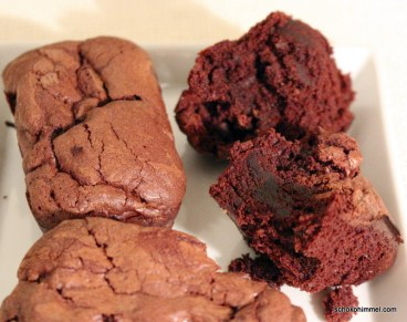 cremige Brownie-Muffins