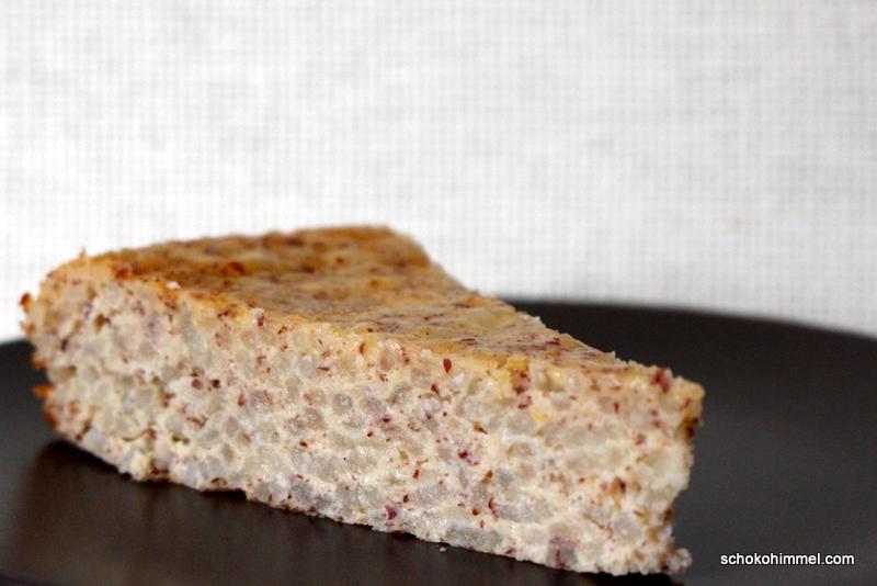 italienische Torta di Riso mit Risotto-Reis