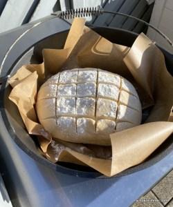 Joghurt-Brot vom Grill