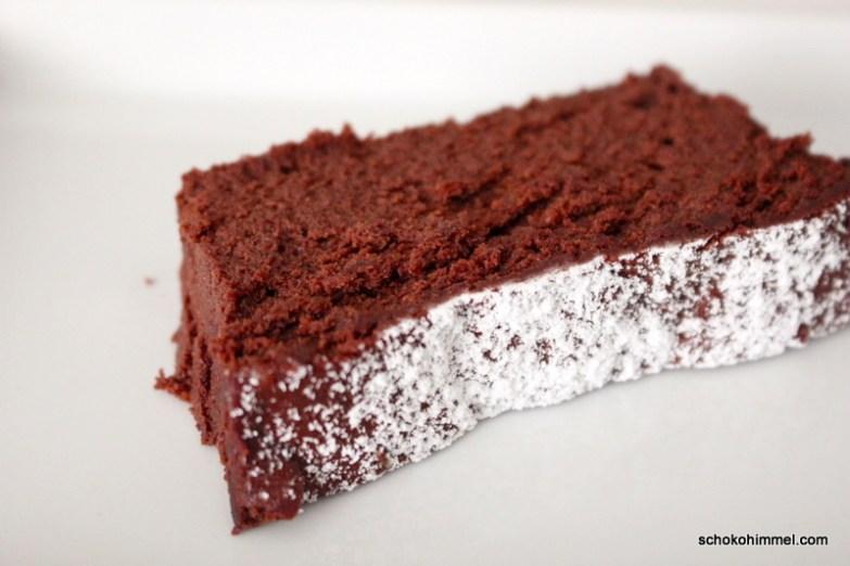 Moelleux au chocolat mit Karamell