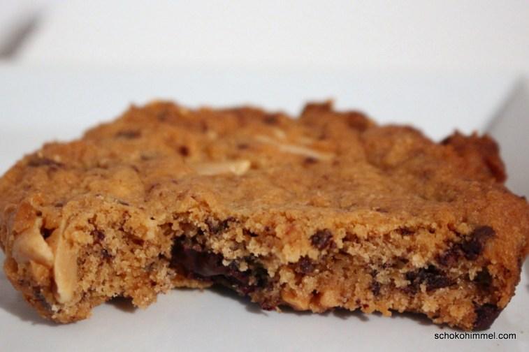 Erdnussbutter-Schoko-Cookie