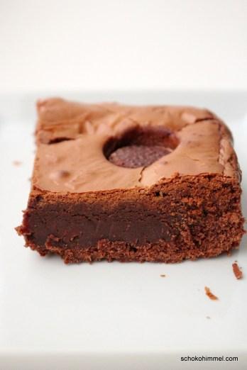klebrige Toffifee-Brownies