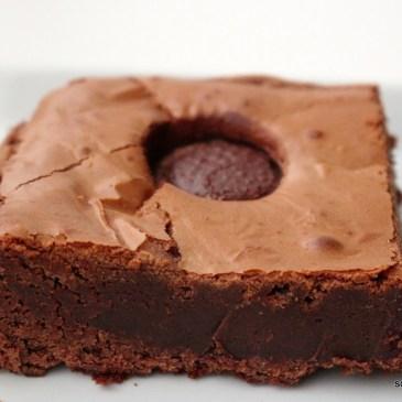 Supersüße Toffifee-Brownies zum Jahresabschluss