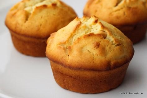 Muffins mit Eierlikör & Erdnüssen
