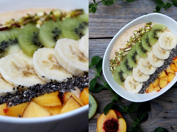 Nektarinen Smoothie Bowl 3