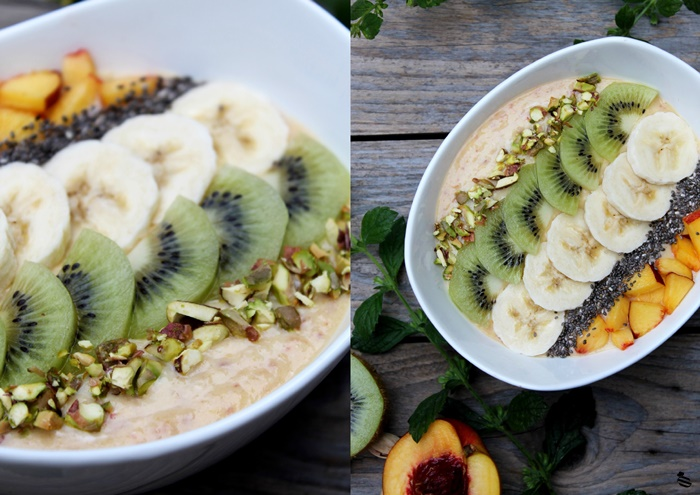 Nektarinen Smoothie Bowl 5