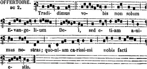 Offertoire de saint Denys