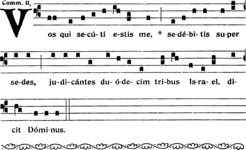 Communion de la Fête de saint Barthélémy
