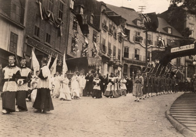 Fete-Dieu a Quebec 1919