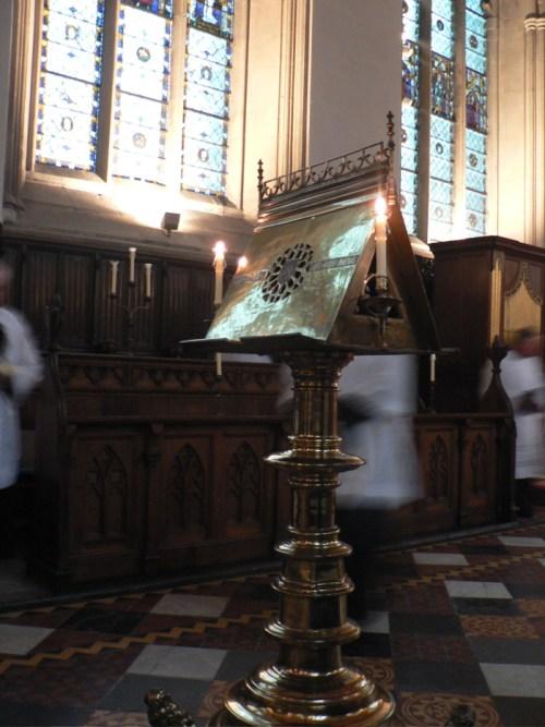 Vêpres de saint Augustin à Merton College, Oxford