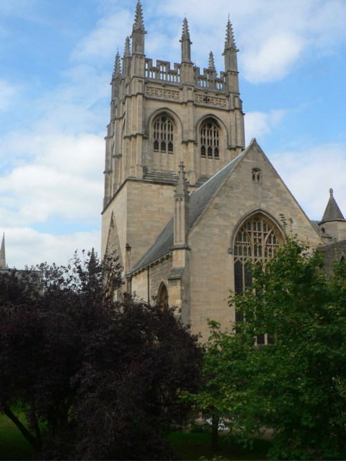 Chapelle de Merton College, Oxford