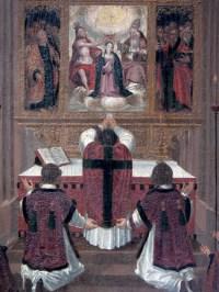 Tableau de la cathédrale de Fribourg, Allemagne