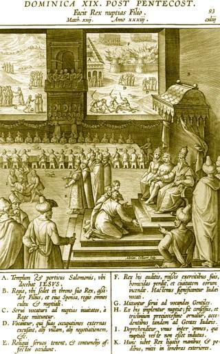 19ème dimanche après la Pentecôte - Facit Rex nuptias Filio - Un roi fit les noces de son Fils (Matthieu 22, 1-14)