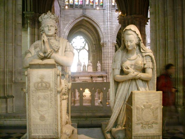 Messe pour la Reine Marie-Antoinette à Saint-Denis le 16 octobre