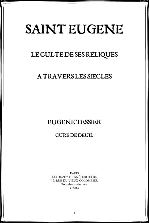 Fichier PDF : Saint Eugène - le culte de ses reliques à travers les âges