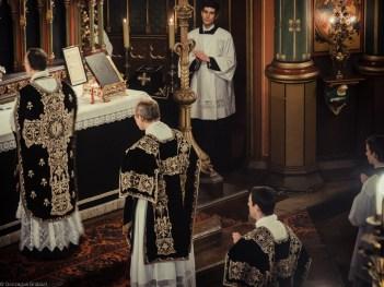Requiem solennel pour Louis XVI du 21 janvier 2013 : Requiescant in pace final, en place de l'Ite missa est