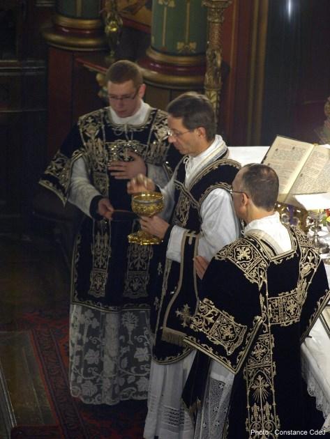 Messe de Requiem pour Louis XVI en 2011 à Saint-Eugène