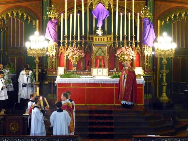 Chant de l'évangile des Rameaux