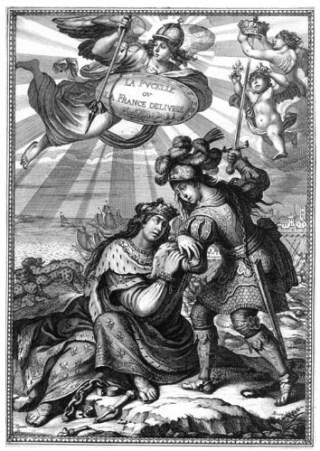 La France Délivrée par sainte Jeanne d'Arc
