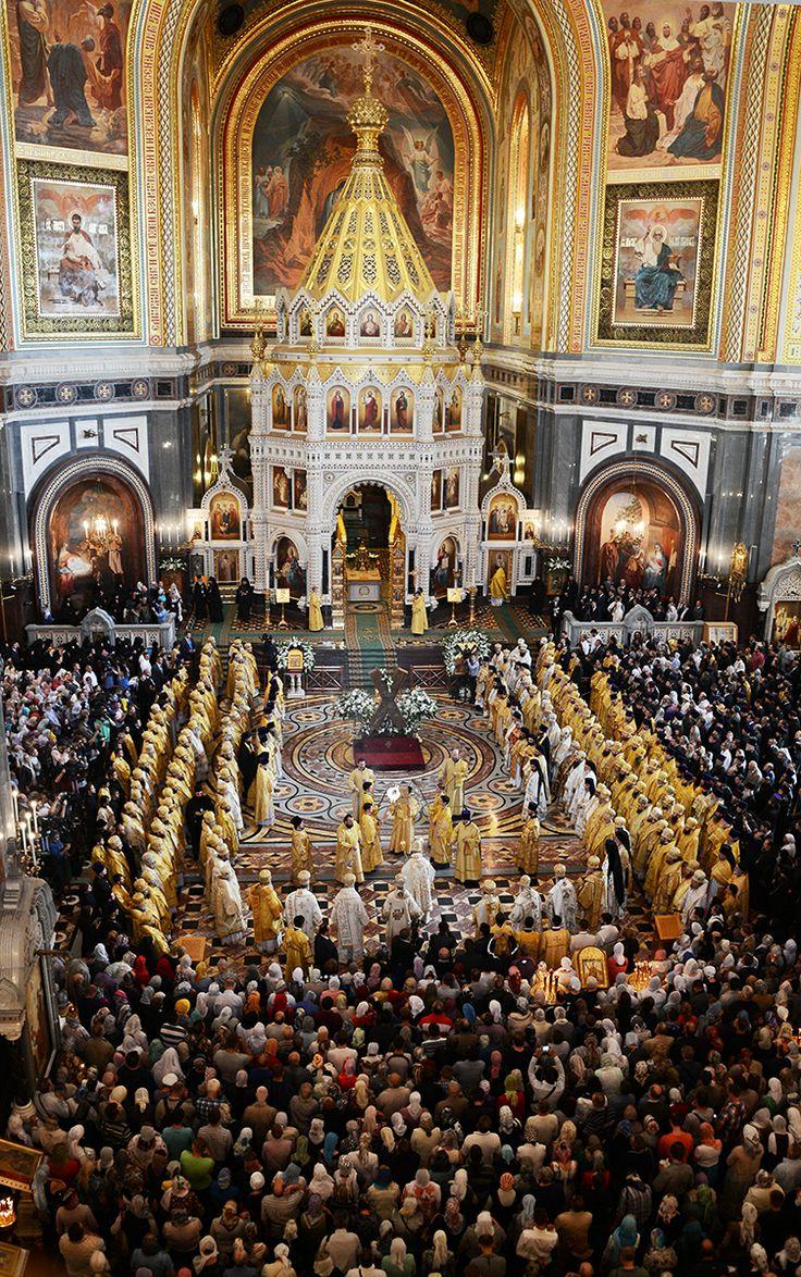 Festivités du 1025ème anniversaire du baptême de la Russie : célébration à Moscou de la fête de sainte Olga par 9 patriarches et primats metropolitains